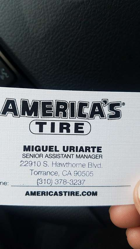 America S Tire Store Torrance Ca At 22910 S Hawthorne Blvd In